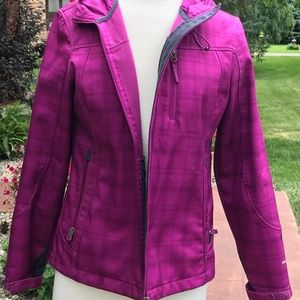 Free Country Hooded Soft Rain Jacket (M)